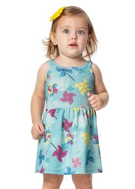 vestido bebe menina azul alenice 40909 2