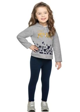 conjunto moletom infantil menina joyful mescla elian 231305 4