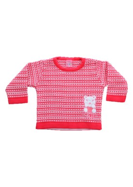 sueter trico bebe menina pink remiro 1018 1