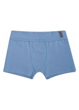 cueca boxer infantil masculina azul upman mini 367c1