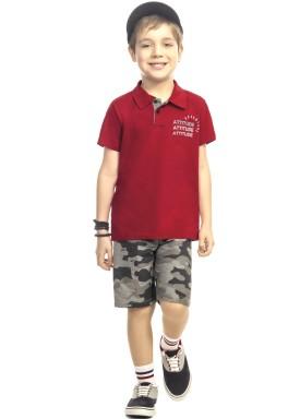 conjunto curto infantil masculino attitude vermelho kamylus 11737 1