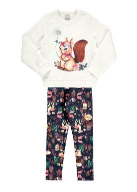 conjunto manga longa infantil feminino esquilo offwhite alakazoo 67555 1