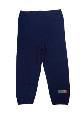 calca trico bebe unissex marinho remyro 0125