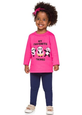 conjunto moletom infantil feminino pandas rosa brandili 53638 1