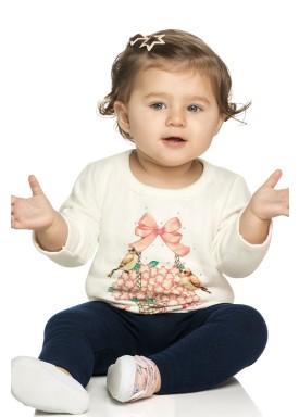 conjunto moletom bebe feminino freedom natural elian 21985 1