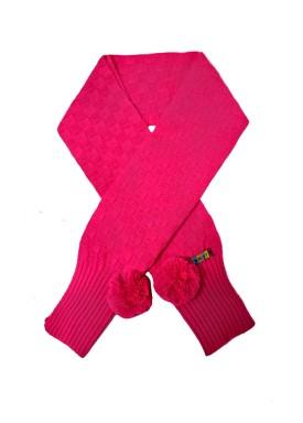 cachecol la infantil feminino pink remyro 0709