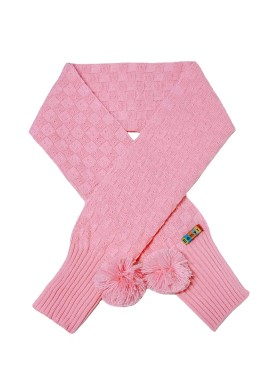 cachecol la infantil feminino rosa remyro 0709