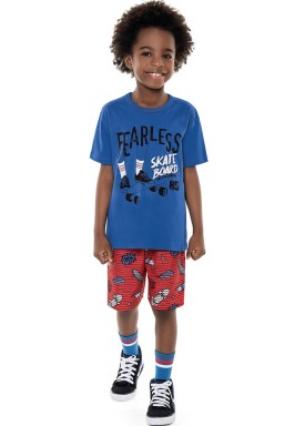 conjunto infantil masculino fearless azul forfun 2169 1