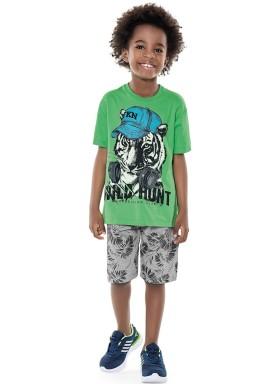 conjunto infantil masculino hunt verde fakini 2258 1