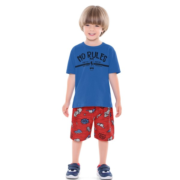 conjunto infantil masculino norules azul forfun 2164 1