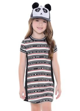 vestido infantil feminino japan branco fakini 2075 1