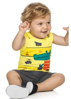 conjunto bebe masculino jacare amarelo elian 20863 1