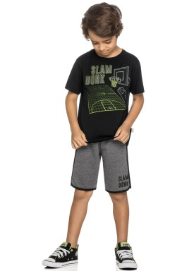 conjunto infantil masculino dunk preto elian 24976 1