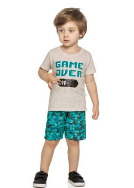 conjunto infantil masculino gameover mescla elian 22999 1