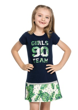 vestido infantil feminino team marinho elian 251321 1