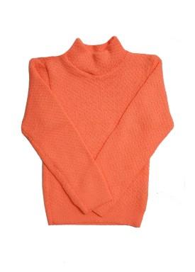 blusa la infantil unissex laranja remyro 0102