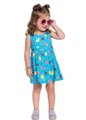 vestido infantil feminino frutas azul brandili 24204 3