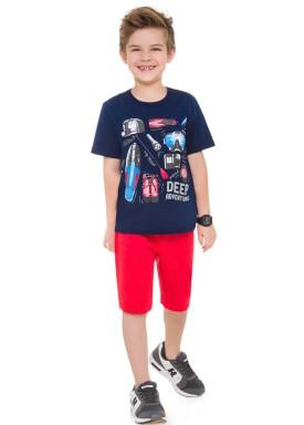 conjunto infantil masculino adventure marinho brandili 24228 1
