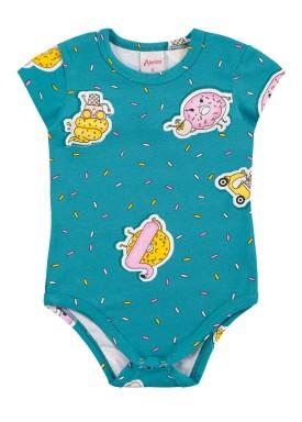 body bebe feminino doces verde alenice 41017