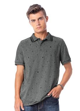 camisa polo juvenil masculina estampada mescla rezzato 30744 1