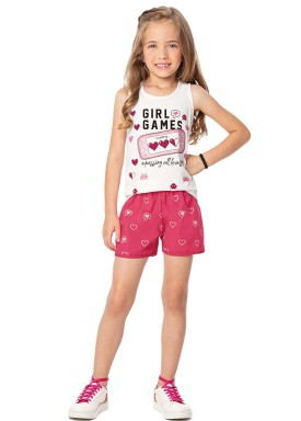 conjunto infantil feminino games natural alenice 47035 1