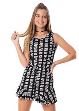 macaquinho juvenil feminino babe preto rezzato 30715 1