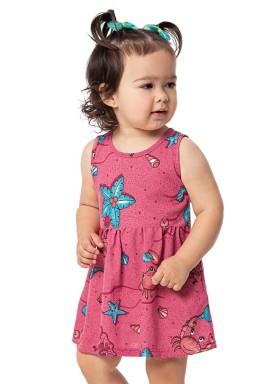 vestido bebe feminino oceano rosa alenice 41021 1