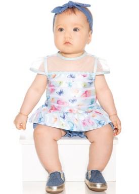 macacao meia manga bebe menina borboletas azul paraiso 9722 1