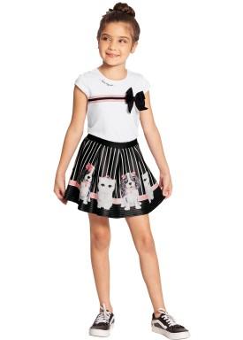 conjunto infantil feminino pets branco alakazoo 39625 1
