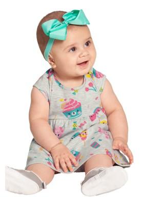 vestido bebe feminino cupcake mescla alakazoo 39543 1