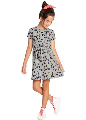 vestido infantil feminino estampado mescla alakazoo 39608 1
