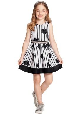 vestido infantil feminino lacos preto alakazoo 39627 1