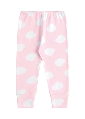 calca suedine bebe feminina nuvens rosa kamylus 1005