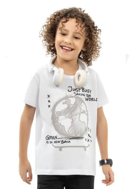 camiseta infantil masculina world branco kamylus 12044 1