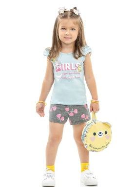 conjunto infantil feminino girls azul kamylus 10161 1