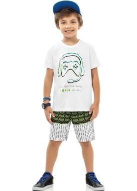 conjunto infantil masculino games branco kamylus 12040 1