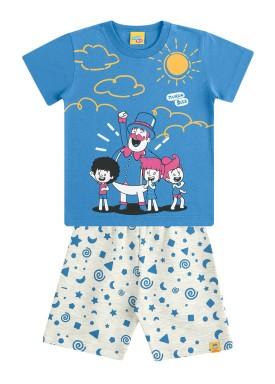 conjunto infantil masculino mundo bita azul kamylus 89814