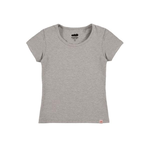 blusa basica infantil feminina mescla marlan 54008