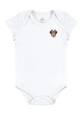 body bebe feminino minnie branco marlan d5411