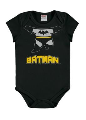 body bebe masculino batman preto marlan c4000