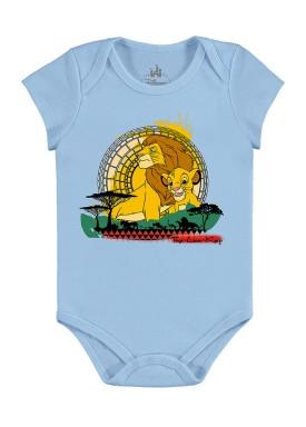 body bebe masculino rei leao azul marlan d4175