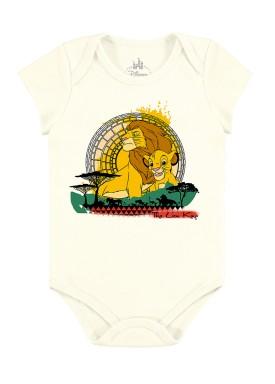 body bebe masculino rei leao marfim marlan d4175