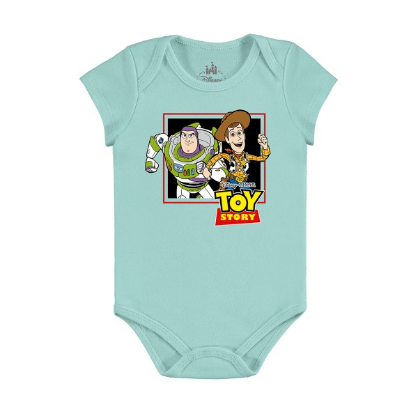body bebe masculino toy story verde marlan d4180