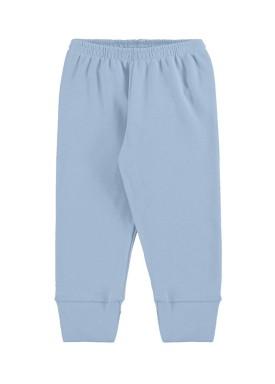 calca suedine bebe unissex azul marlan 54136