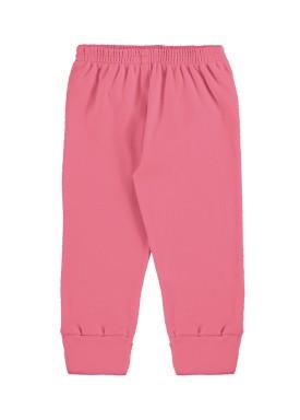 calca suedine bebe unissex pink marlan 54136