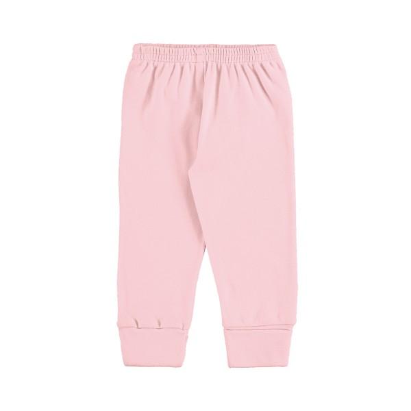 calca suedine bebe unissex rosa marlan 54136
