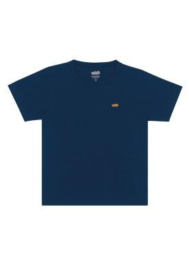 camiseta basica infantil masculina marinho marlan 54012
