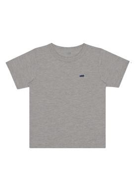 camiseta basica infantil masculina mescla marlan 54012