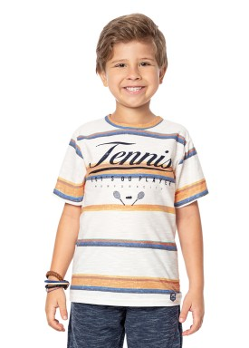 camiseta infantil masculina tennis marfim marlan 44668 1