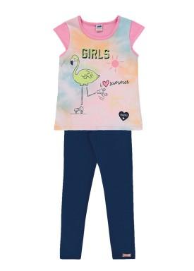 conjunto infantil feminino summer rosa marlan 44645 1